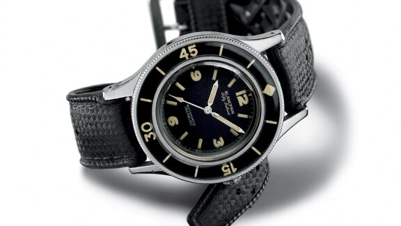 Montre Vintage Fifty Fathoms Blancpain