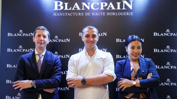 Chef julien Royer - Blancpain Singapour event