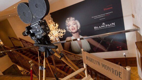 Blancpain - Cinema Chair of Marilyn Monroe