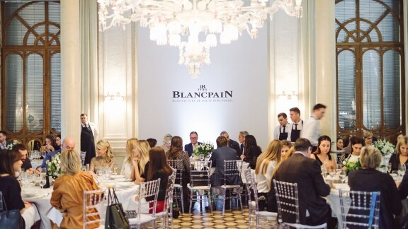 Blancpain Russia event Baccarat
