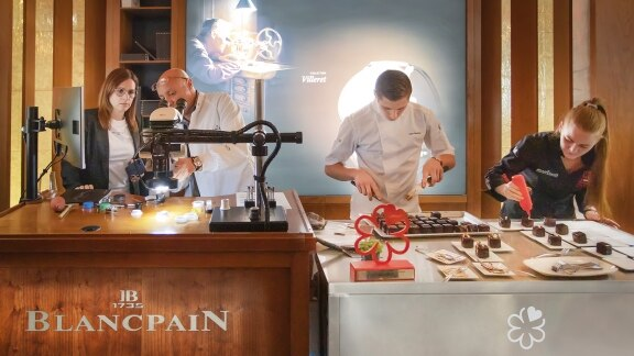 Partenariat Blancpain & Guide Michelin - February 2020