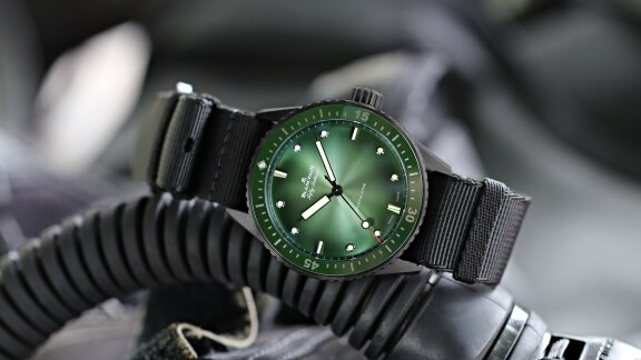 Blancpain Bathyscaphe Mokarran - 5005 0153 NABA diving equipment