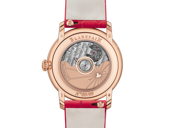 Blancpain Saint valentin 2019 - 6126 - 2954-95A, Back, Red