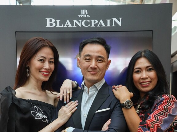 Event Singapour Blancpain Guest and Emy Tellier