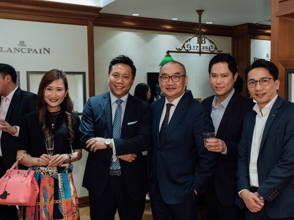 Traditionnal Chinses calendar, Hong Kong Event - Blancpain