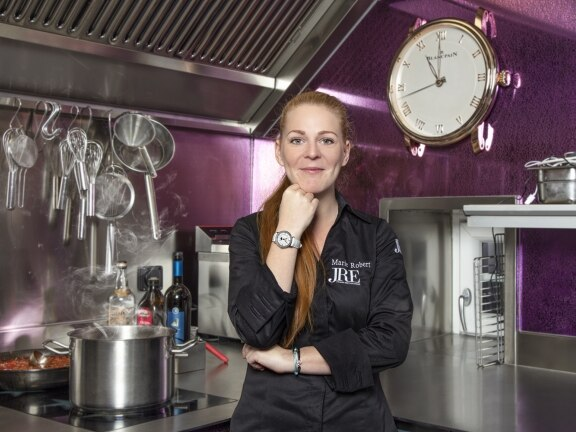 Marie Robert - Blancpain Chef partner