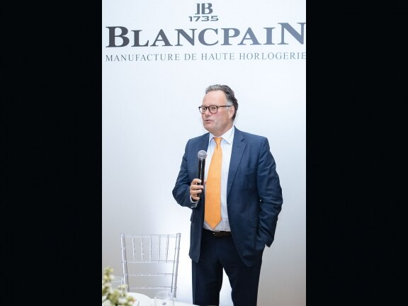 Blancpain Russia event Baccarat marc Junod