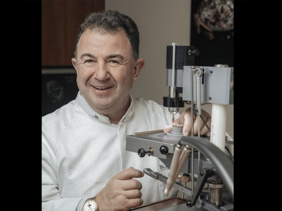 Martin Berasategui - Blancpain friends - Discovering watchmaking