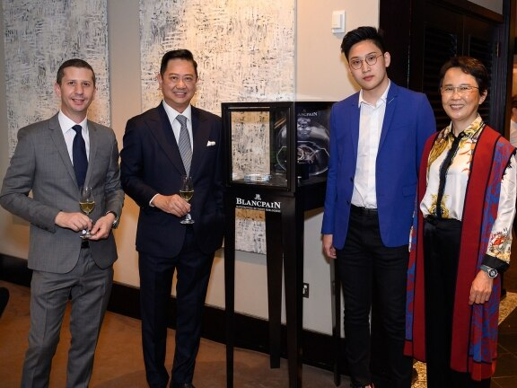 Blancpain celebrates Haute Horlogerie and Art de Vivre in Australia Jalil Elkouch-Bordier