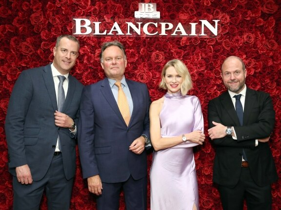 "Blancpain ""Timeless Elegance"" exhibition - New York"