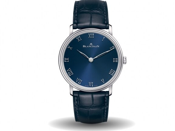 6605-3440-55B Blue Edition front - Blancpain