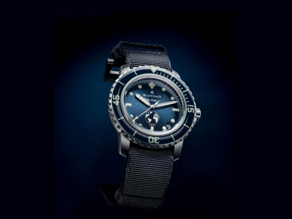 Blancpain launches the third limited edition series of Blancpain Ocean Commitment watches