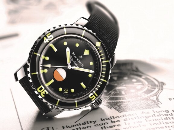 "Tribute to Fifty Fathoms MIL-SPEC ""Only Watch unique piece"""