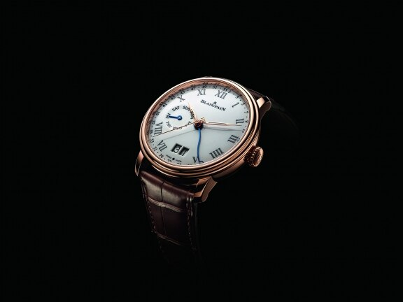 Blancpain presents: An appealing new week of the year, large date, and day of the week model