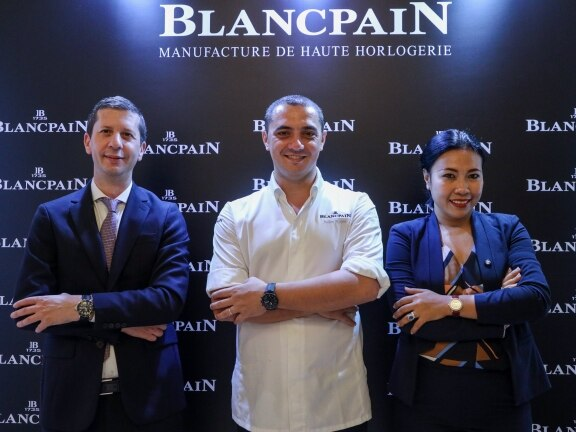 Blancpain announces two Michelin star chef Julien Royer as a new friend of the brand