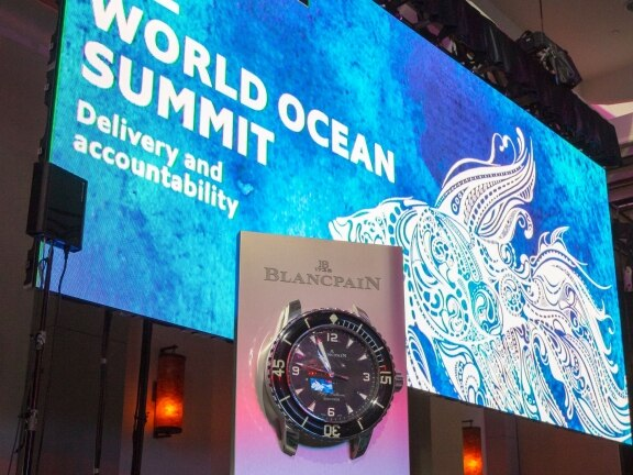 World Ocean Initiative 2018: Blancpain and The Economist step up their cooperation