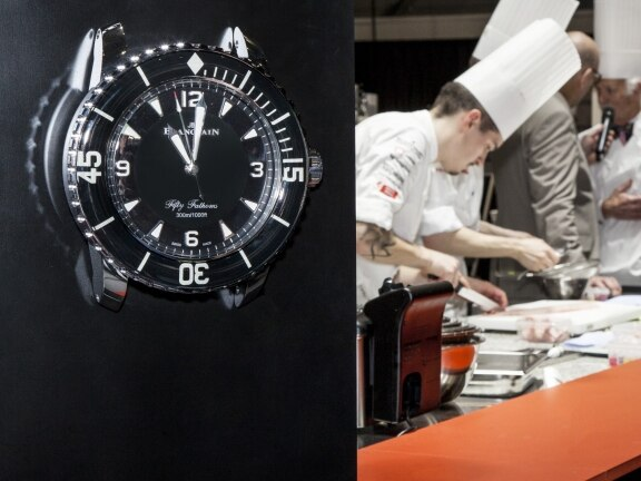 Blancpain partners the 2018 Bocuse d'Or Switzerland