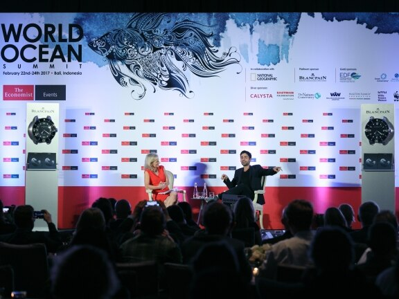 Blancpain supports The Economist's World Ocean Summit