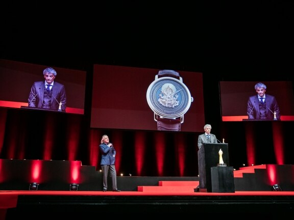 Blancpain wins the Grand Prix d'Horlogerie de Genève in the Artistic Crafts' category