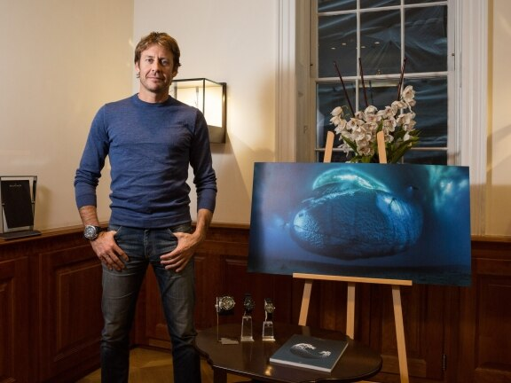 "Blancpain's partner Laurent Ballesta wins the Wildlife Photographer of the Year's ""Earth's Environments"" category"