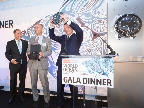 Time to innovate Blancpain at the World Ocean Summit