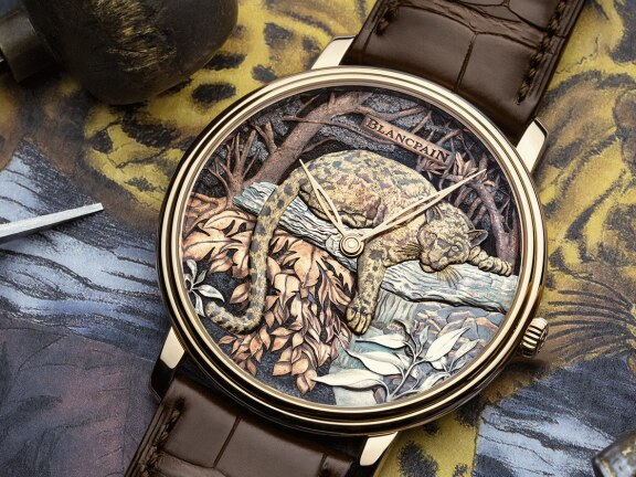 Formosa clouded leopard: two Métiers d'Art models in a Boutique edition for Taiwan