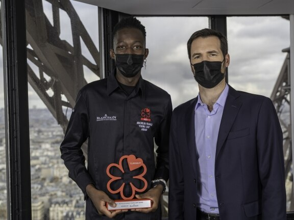 Blancpain & Michelin Guide France 2021 Mory Sacko & Gwendal Poullennec