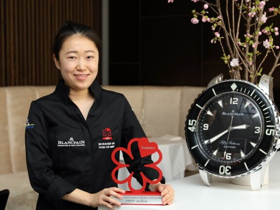 Young Chef Award to winner Suyoung Park