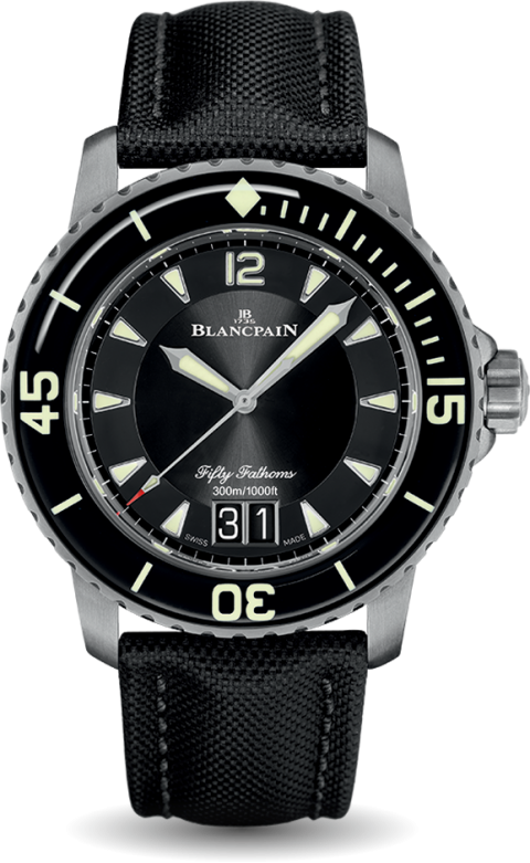 Blancpain 5025 12B30 52 Fifty Fathoms